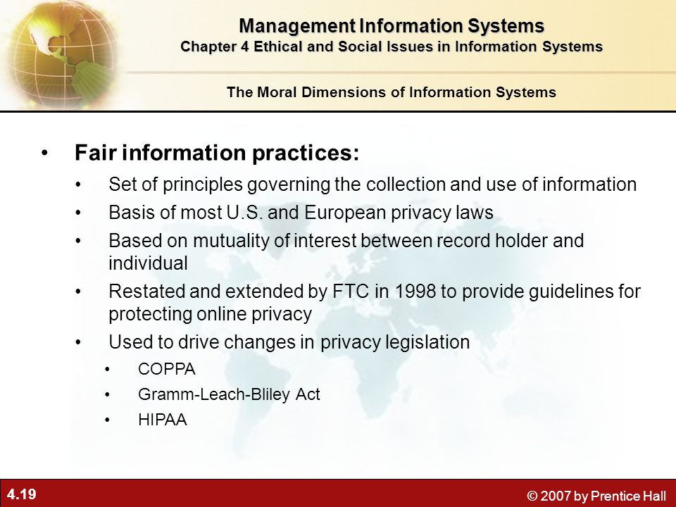 Fair information practices: