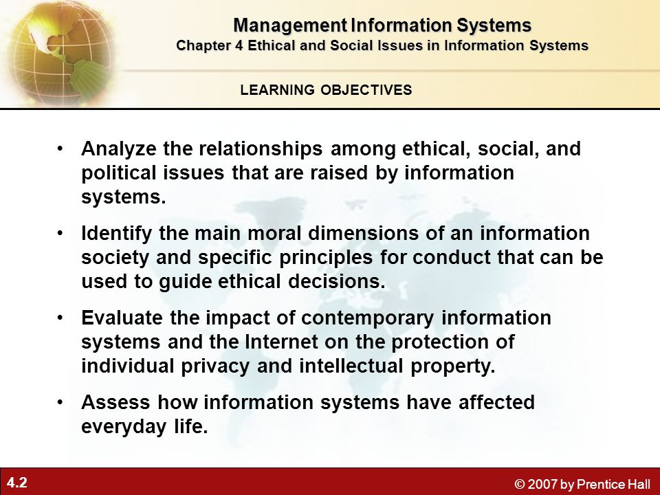 Assess how information systems have affected everyday life.