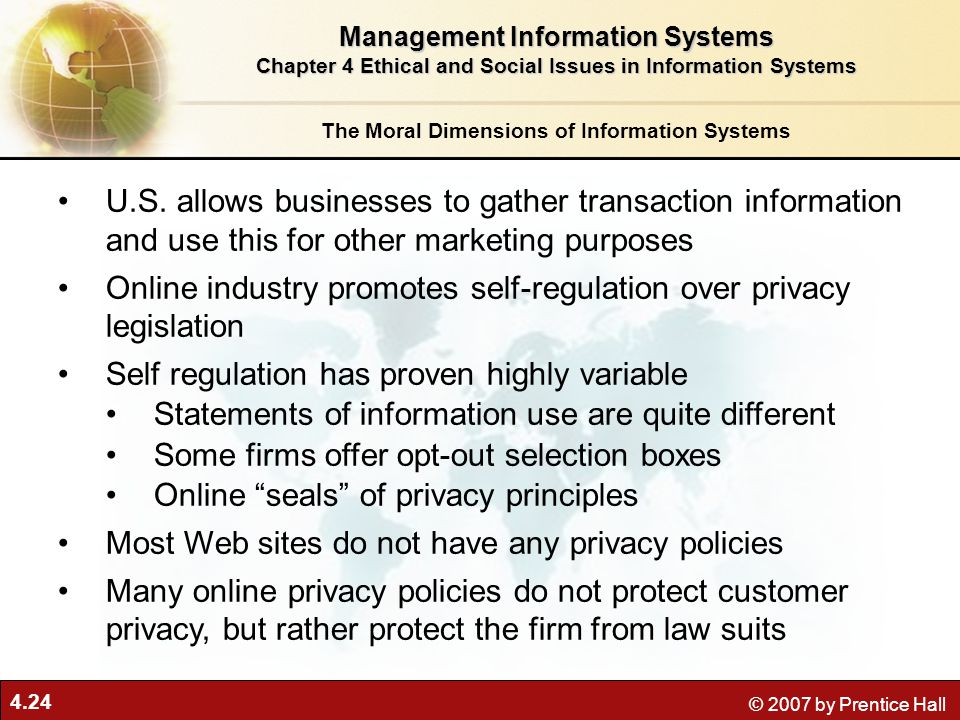 Online industry promotes self-regulation over privacy legislation