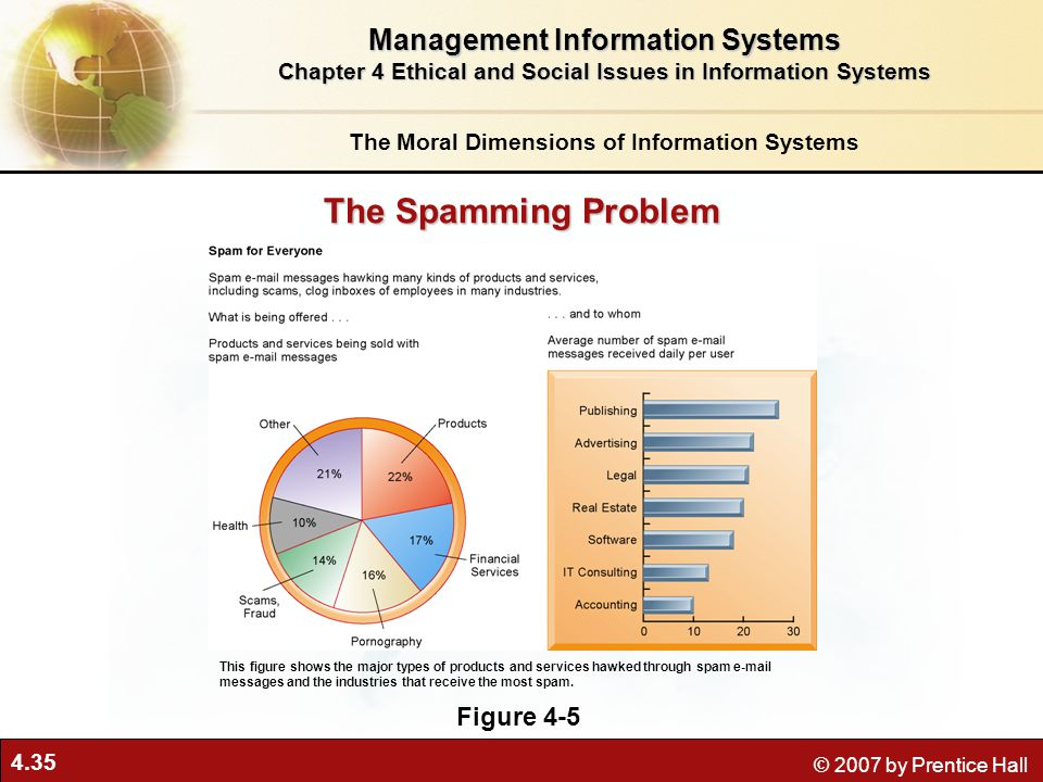 The Spamming Problem Management Information Systems Figure 4-5