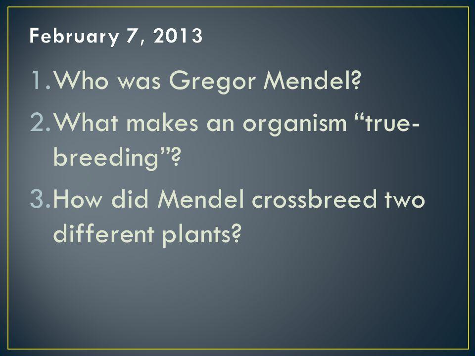 What makes an organism true-breeding