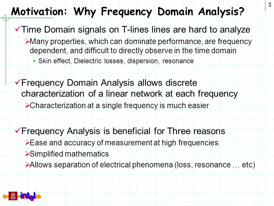 Motivation: Why Frequency Domain Analysis
