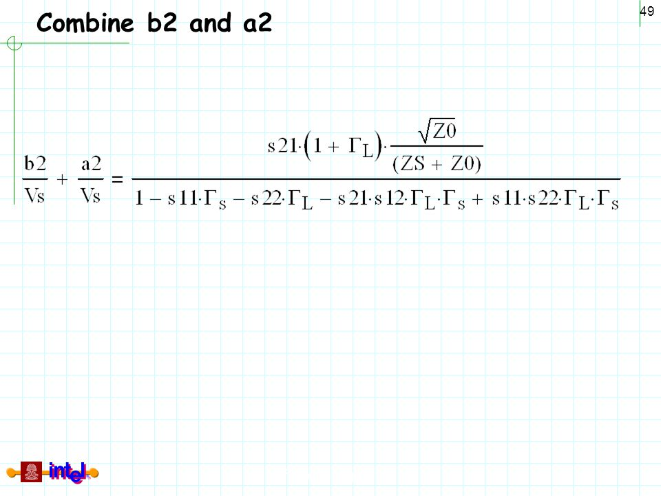 Combine b2 and a2