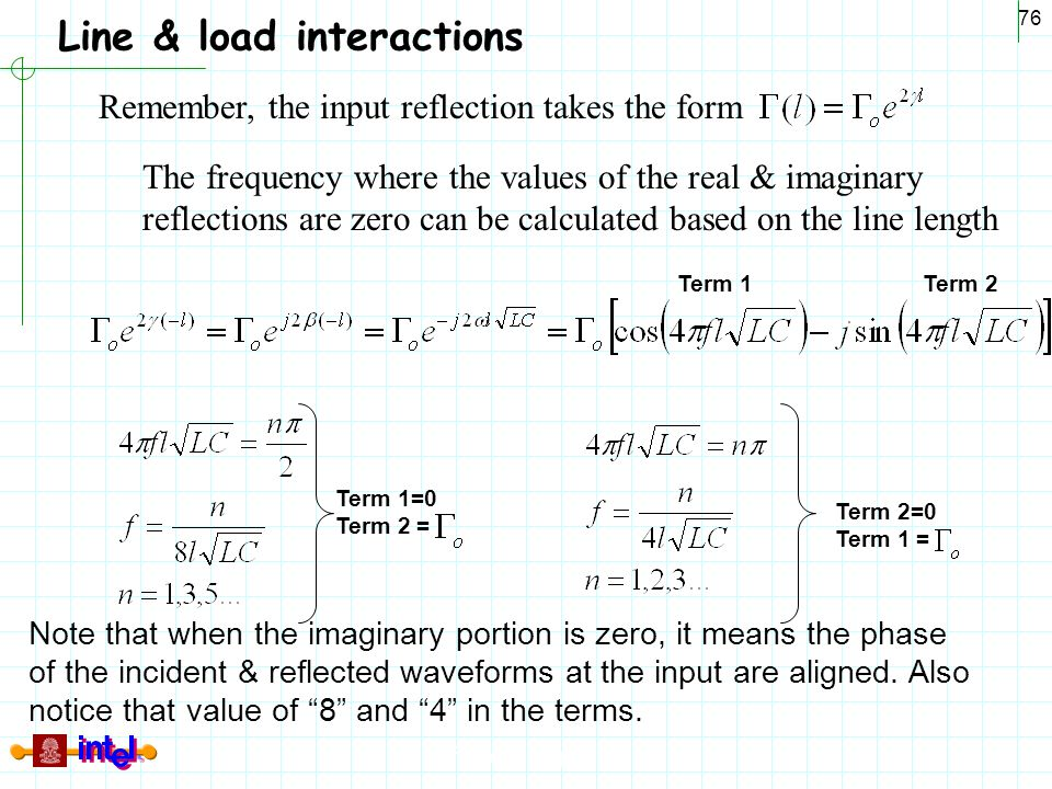 Line & load interactions