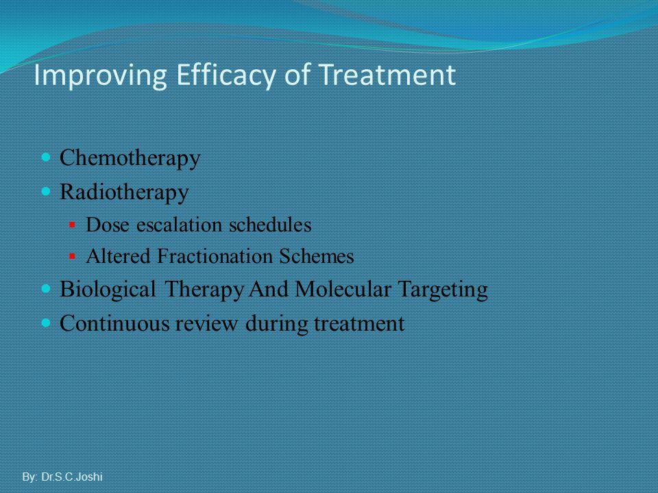 Improving Efficacy of Treatment
