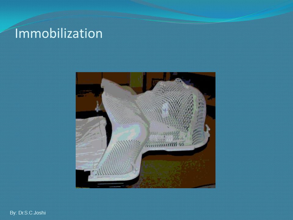 Immobilization By: Dr.S.C.Joshi