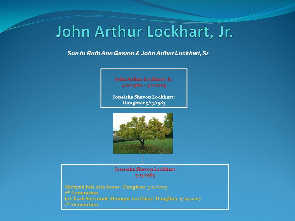 John Arthur Lockhart, Jr.