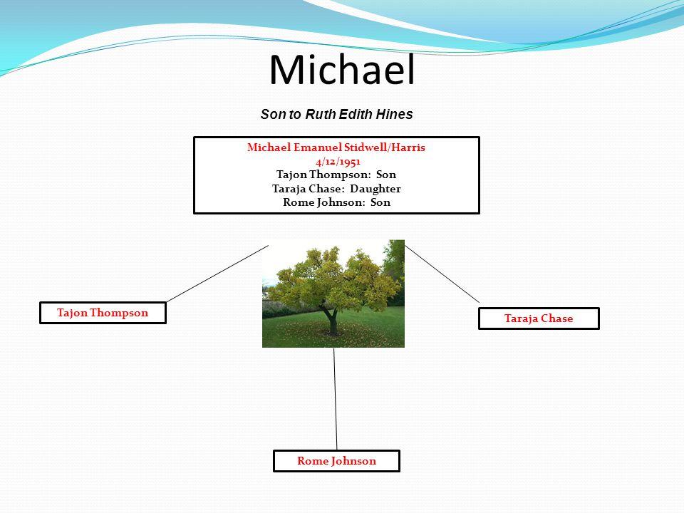 Michael Emanuel Stidwell/Harris Taraja Chase: Daughter