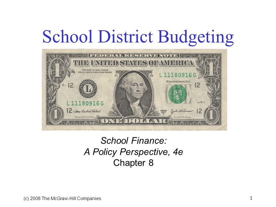 School District Budgeting