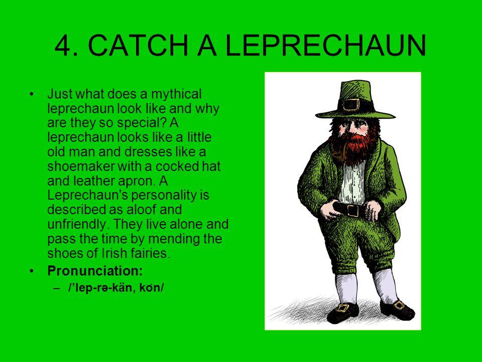 4. CATCH A LEPRECHAUN