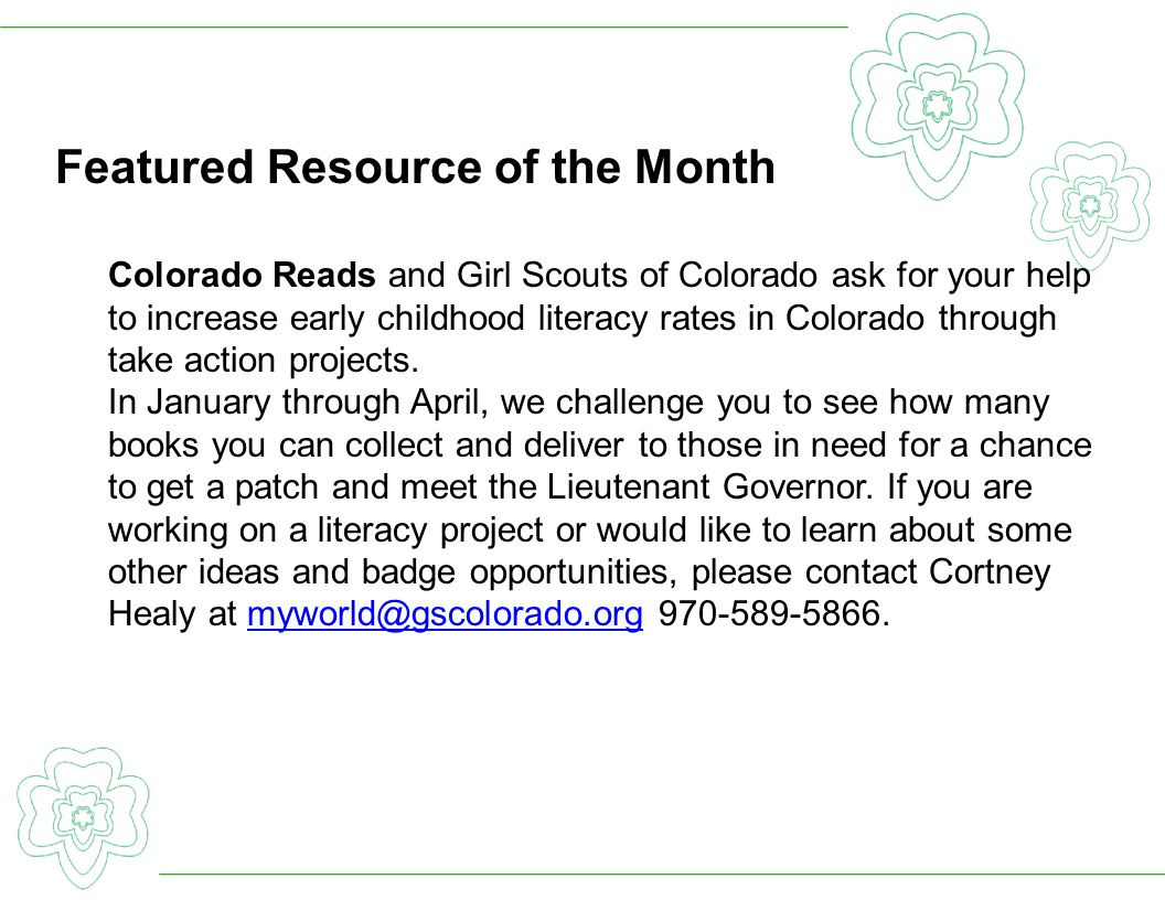 Featured Resource of the Month