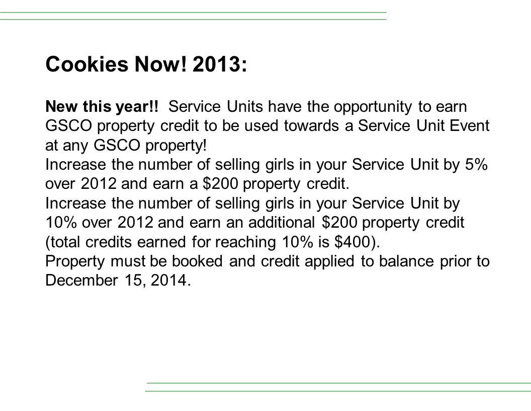 Cookies Now! 2013: