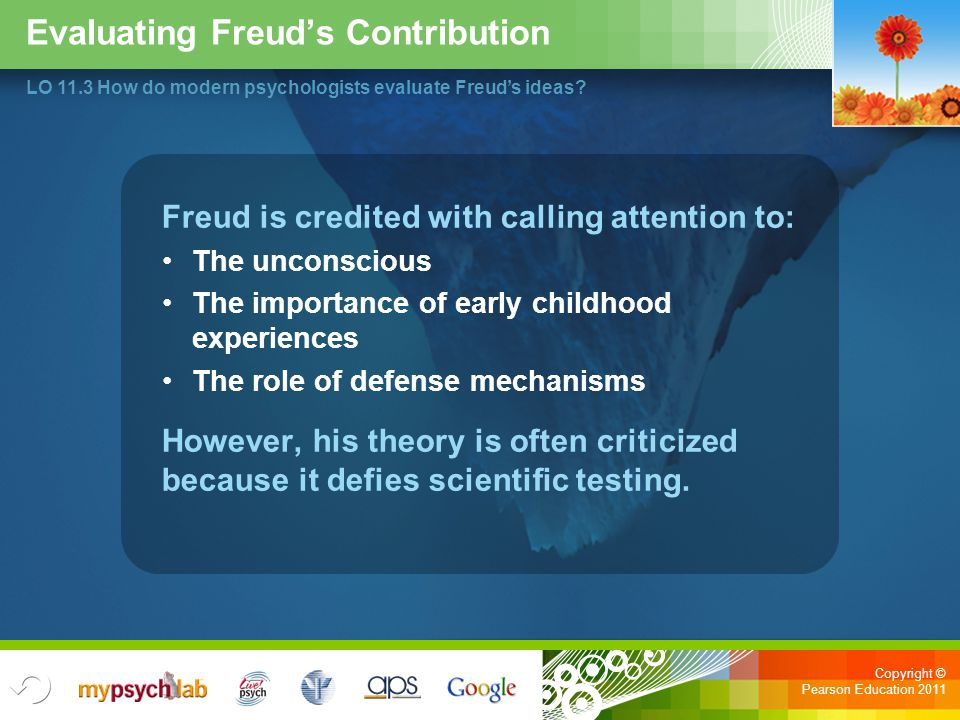 Evaluating Freud's Contribution