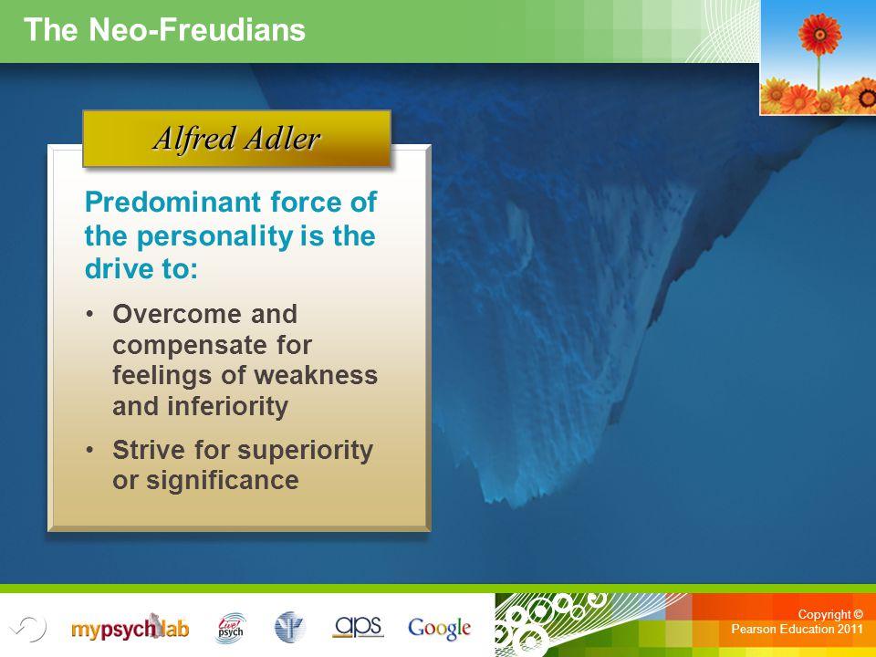 Alfred Adler The Neo-Freudians