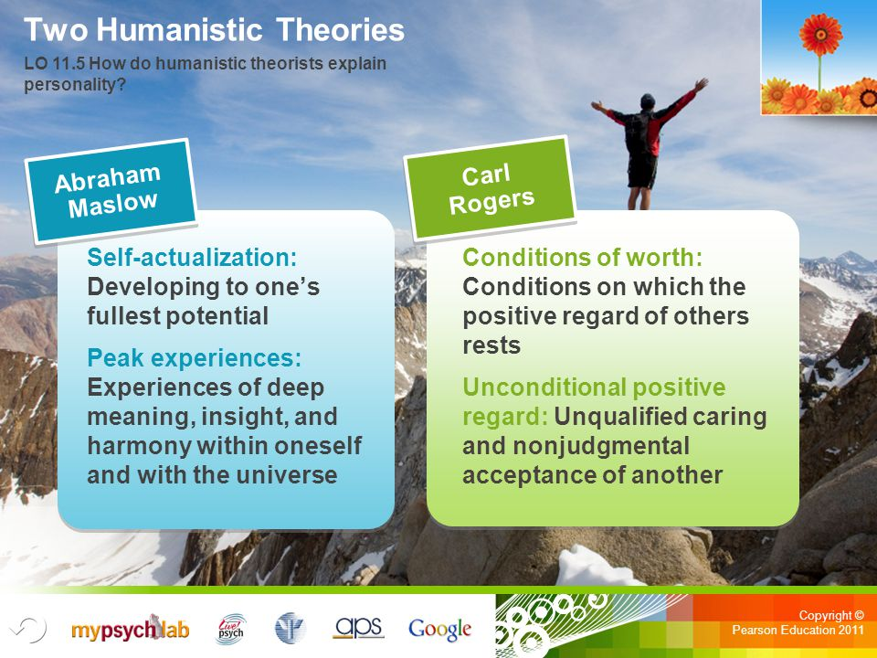 Two Humanistic Theories