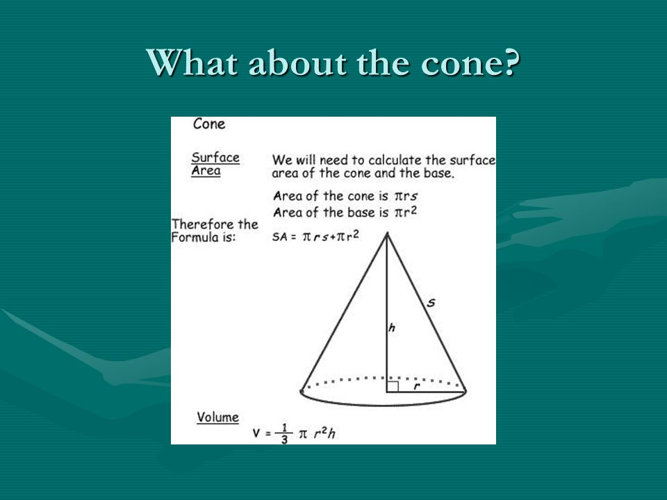 What about the cone
