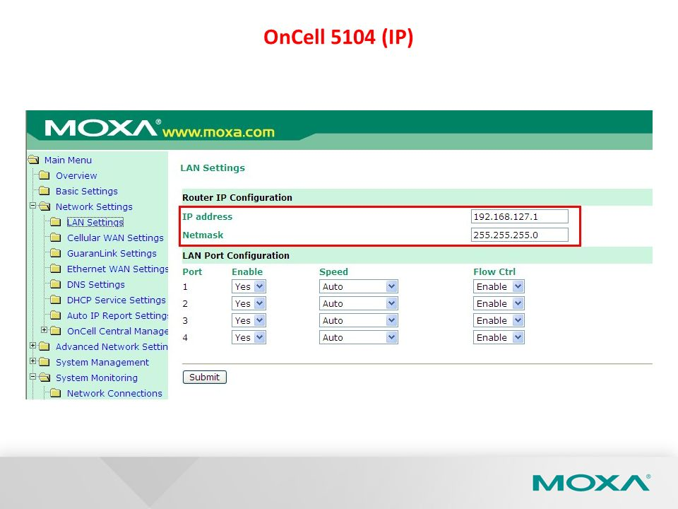 OnCell 5104 (IP)
