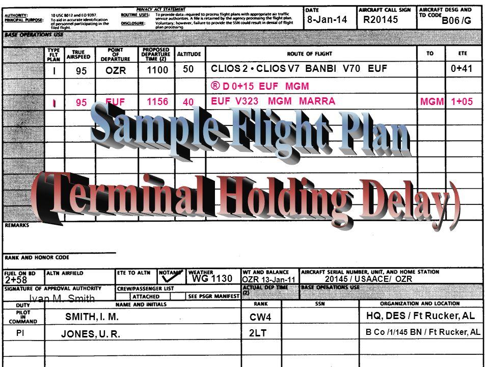 (Terminal Holding Delay)