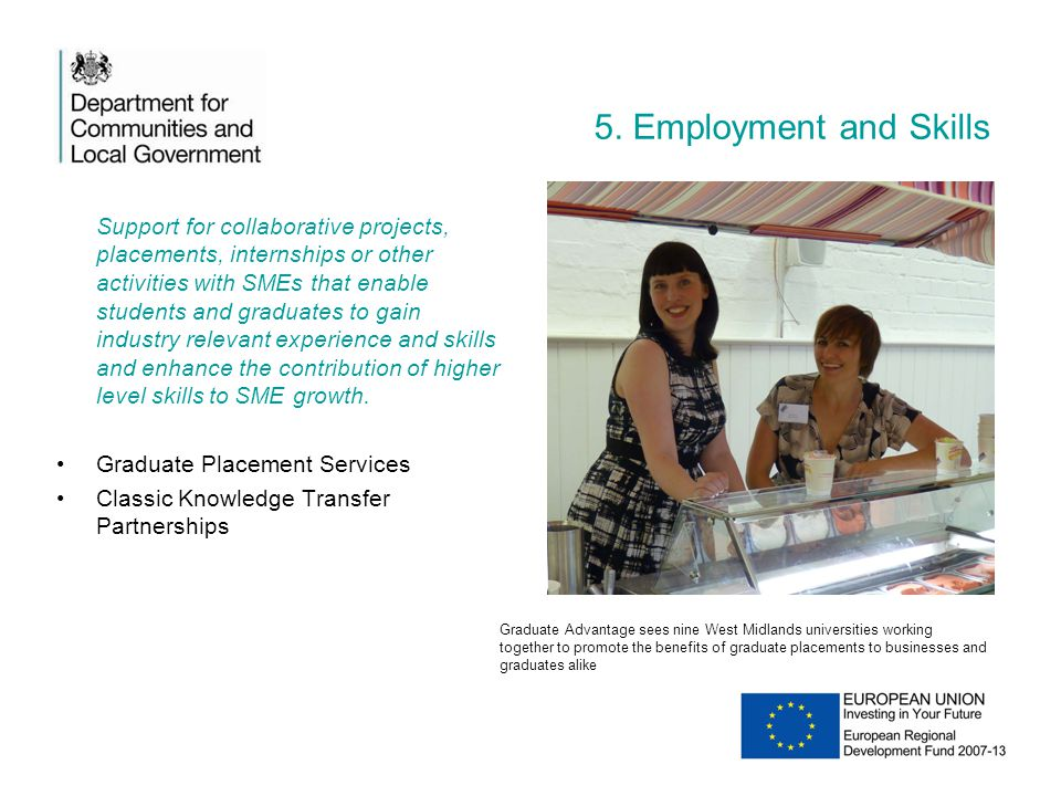 5. Employment and Skills