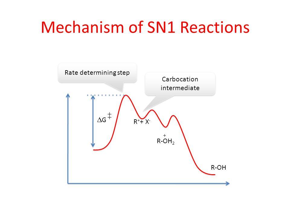 Mechanism of SN1 Reactions