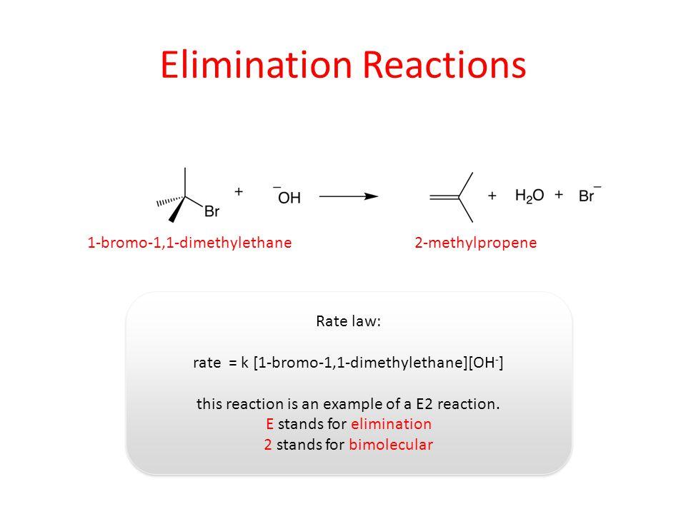 Elimination Reactions
