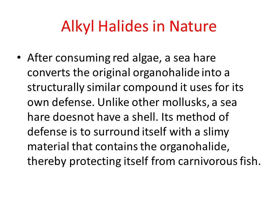Alkyl Halides in Nature