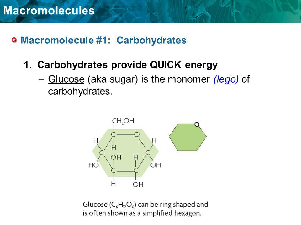 Macromolecule #1: Carbohydrates
