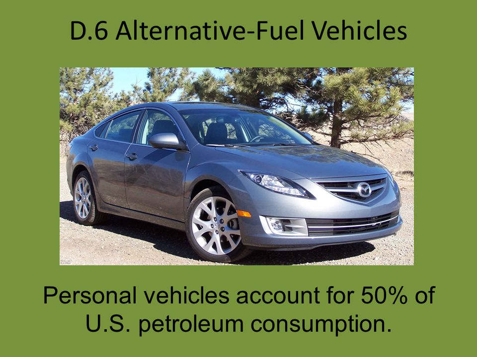 D.6 Alternative-Fuel Vehicles