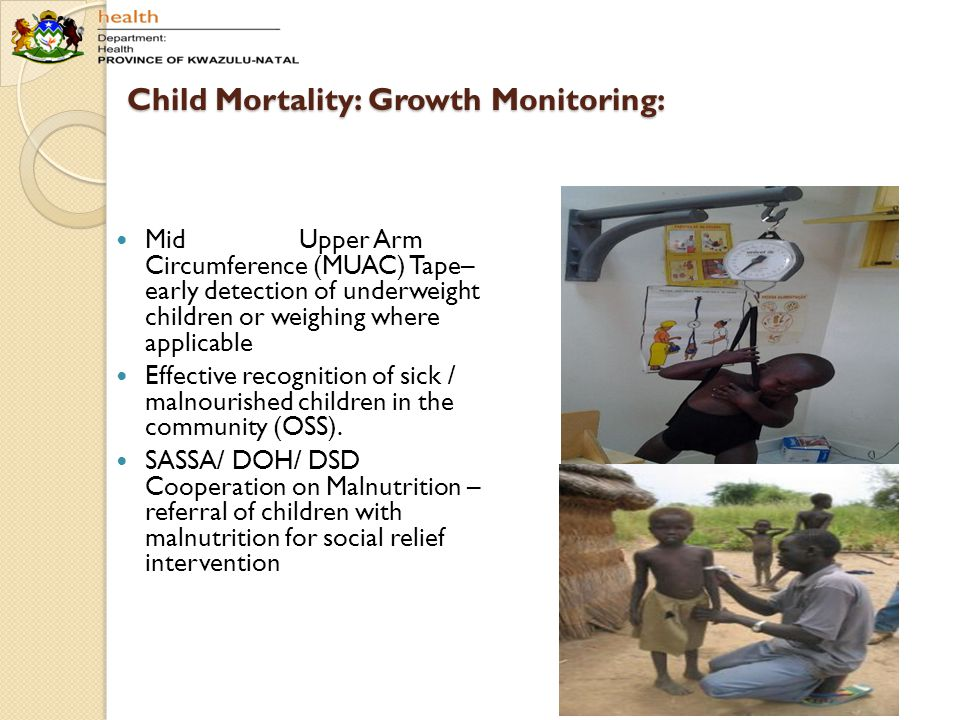 Child Mortality: Growth Monitoring: