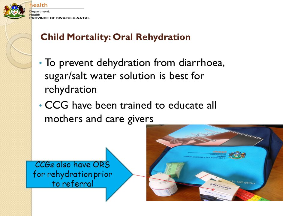 Child Mortality: Oral Rehydration