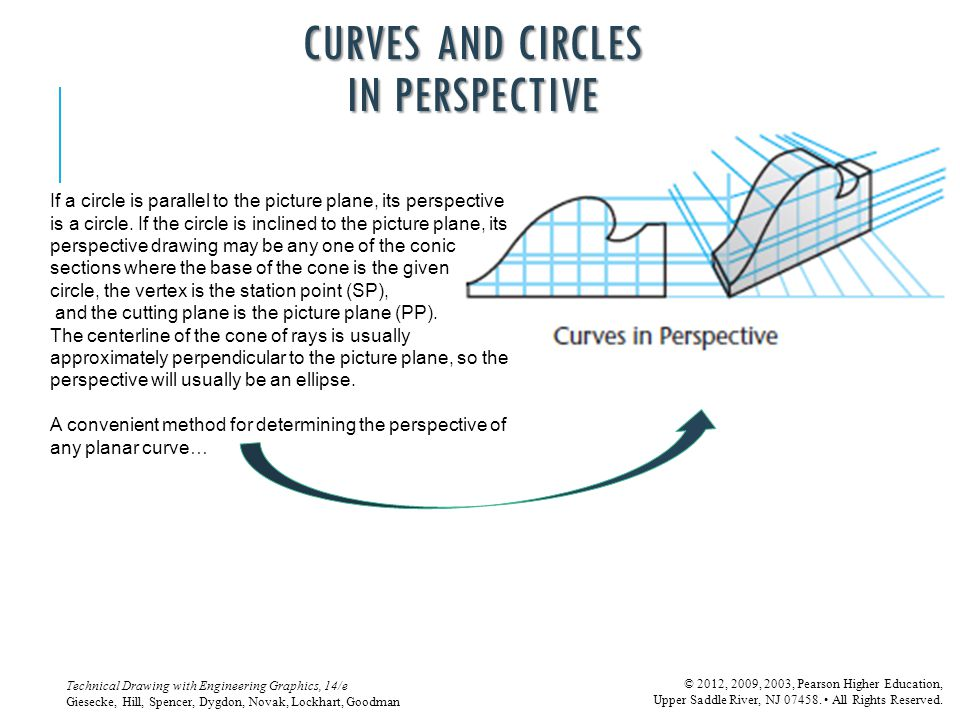 CURVES AND CIRCLES IN PERSPECTIVE