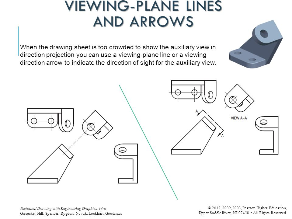 VIEWING-PLANE LINES AND ARROWS