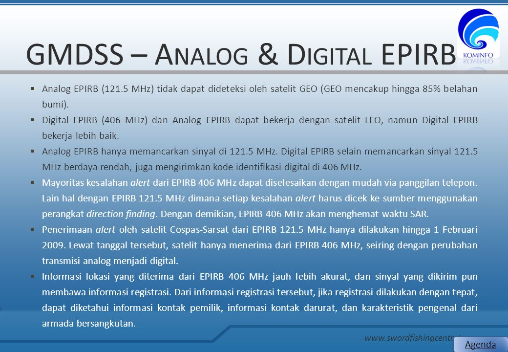 GMDSS – Analog & Digital EPIRB
