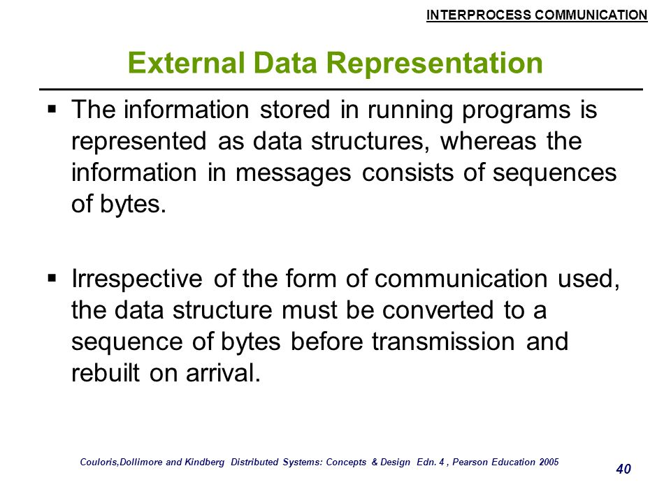 External Data Representation