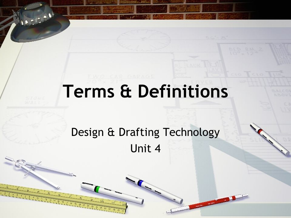 Design & Drafting Technology Unit 4