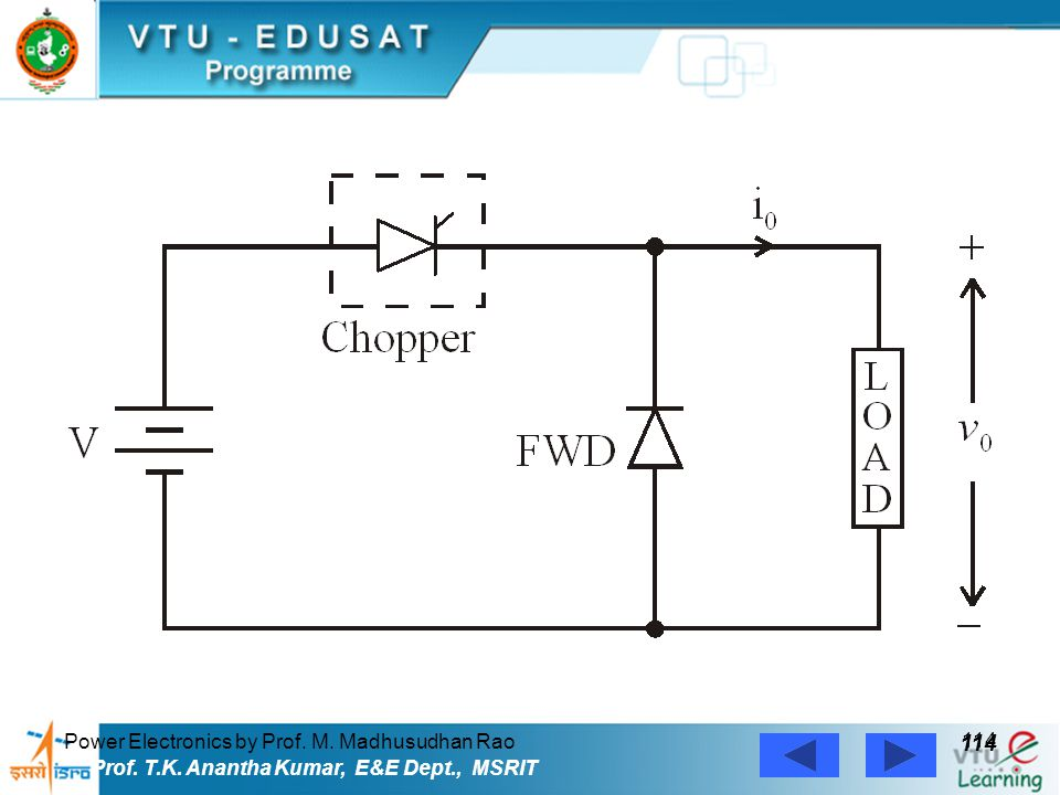 114 Power Electronics by Prof. M. Madhusudhan Rao