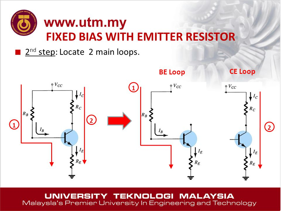 FIXED BIAS WITH EMITTER RESISTOR