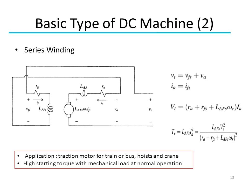 Basic Type of DC Machine (2)