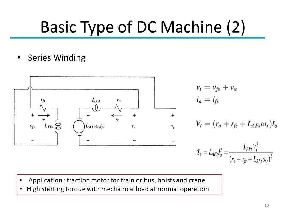 Basic Type of DC Machine (2)