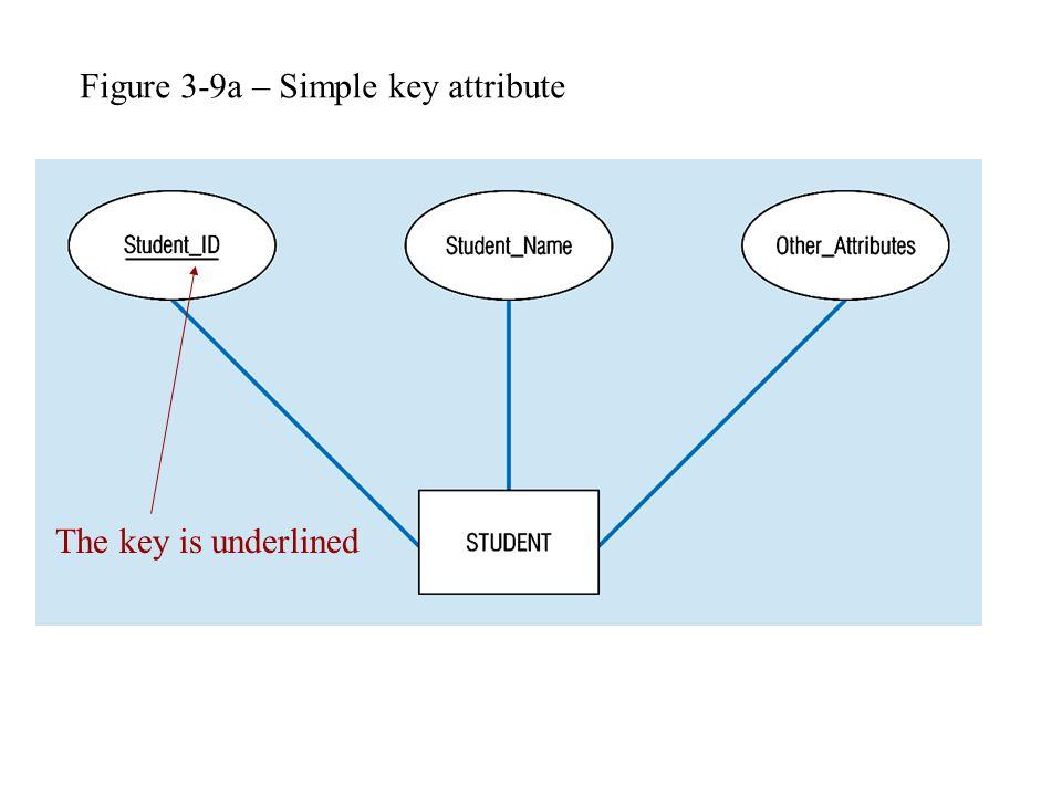 Figure 3-9a – Simple key attribute