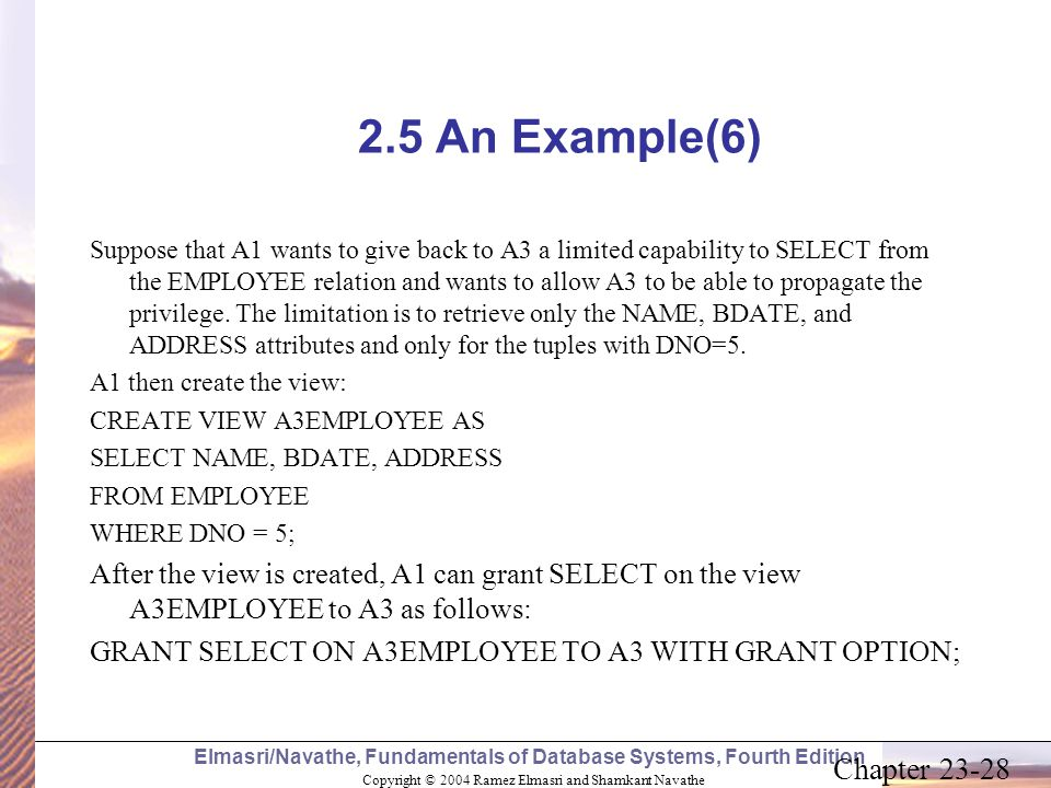 2.5 An Example(6)