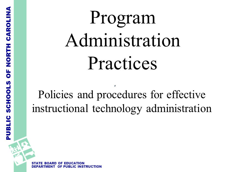 Program Administration Practices
