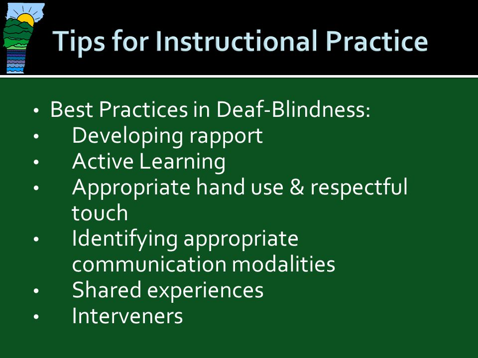 Tips for Instructional Practice
