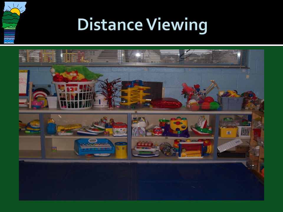 Distance Viewing Difficulty with looking at a distance is typical. Can be related to complexity.