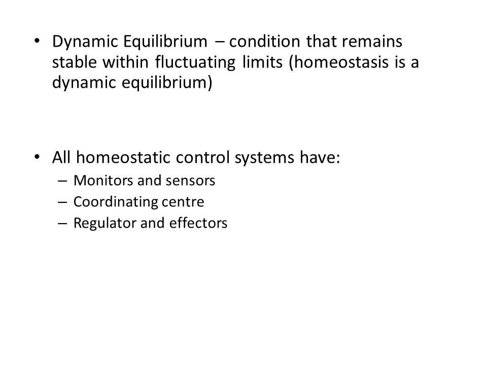 All homeostatic control systems have: