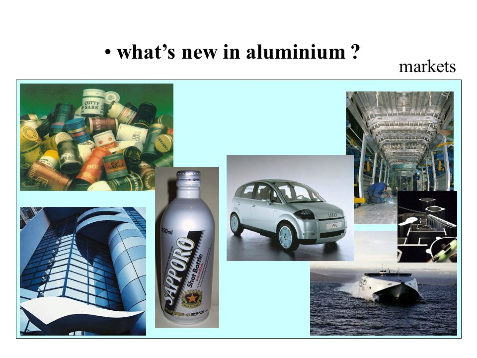what's new in aluminium