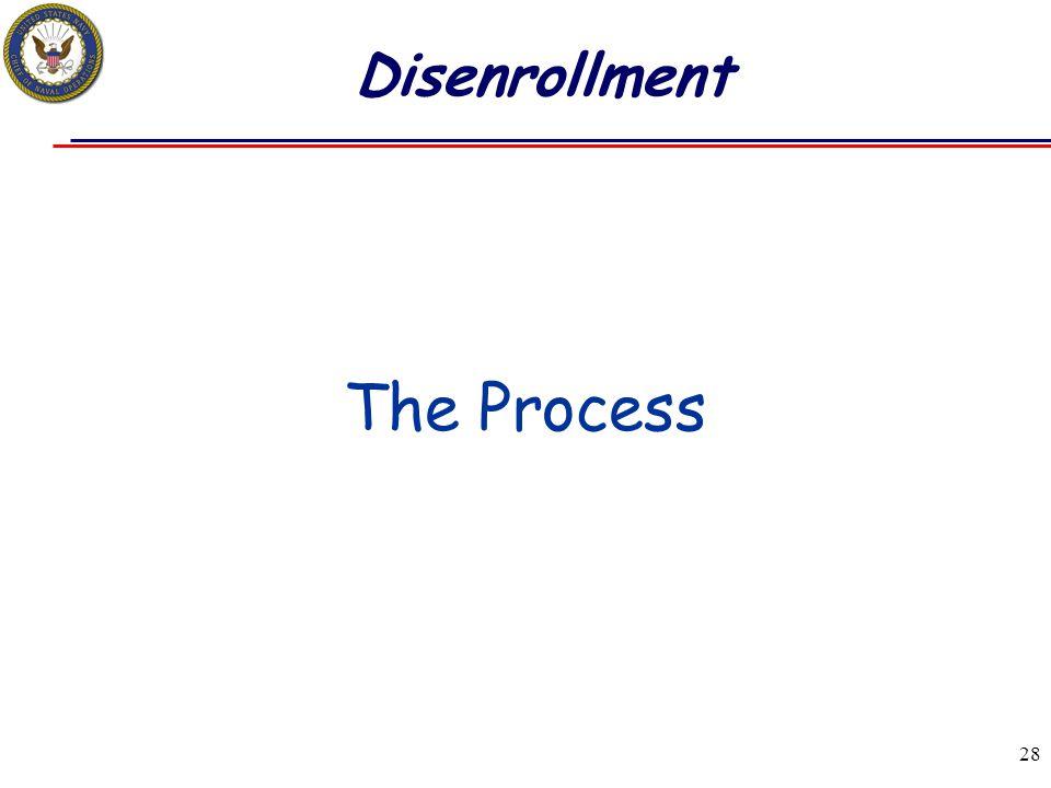 Disenrollment The Process