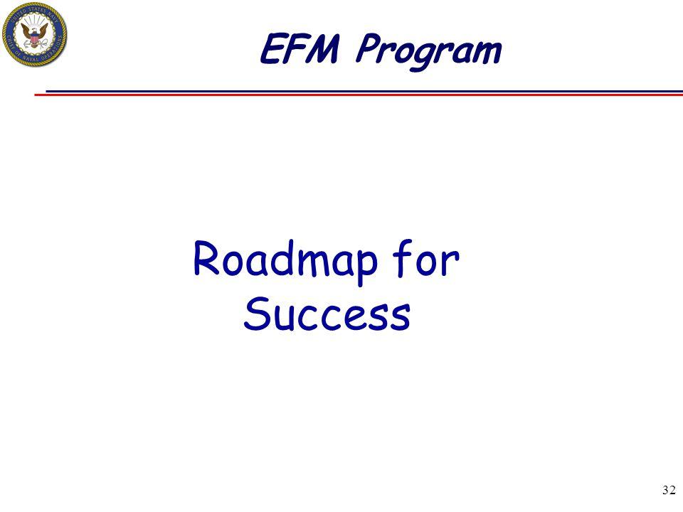 EFM Program Roadmap for Success