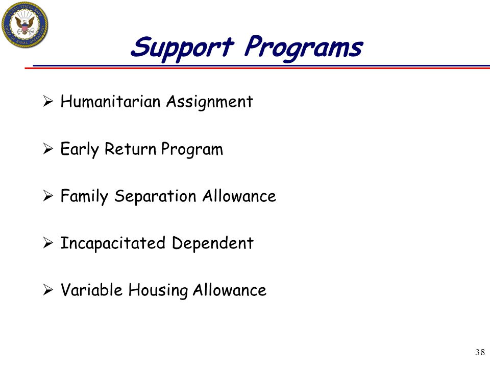 Support Programs Humanitarian Assignment Early Return Program