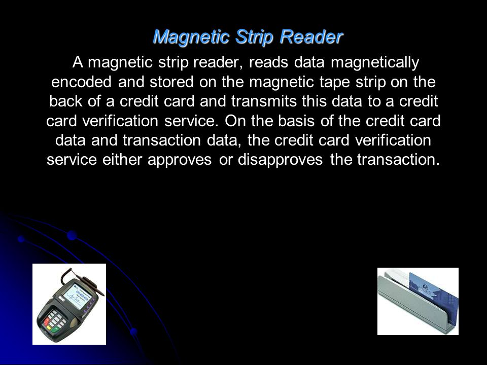Magnetic Strip Reader
